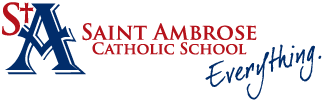 Saint Ambrose School  |  Brunswick, Ohio Logo