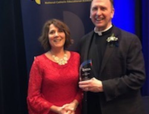 Father Bob Recognized Nationally for Outstanding Contributions to Catholic Education