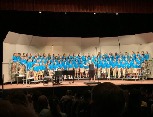 Saint Ambrose Music Students Shine in the OCDA Children's Honor Choir!