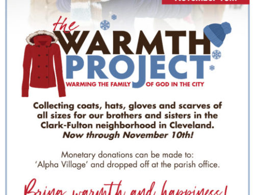 Warmth Project  Donate Now through November 10th